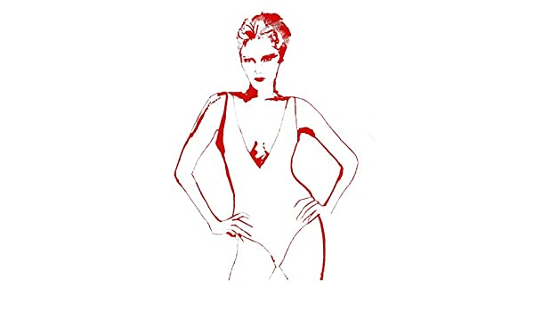 Amazoncom Fierce Fashion Illustration 8 X 10 Wall Décor Fine Art