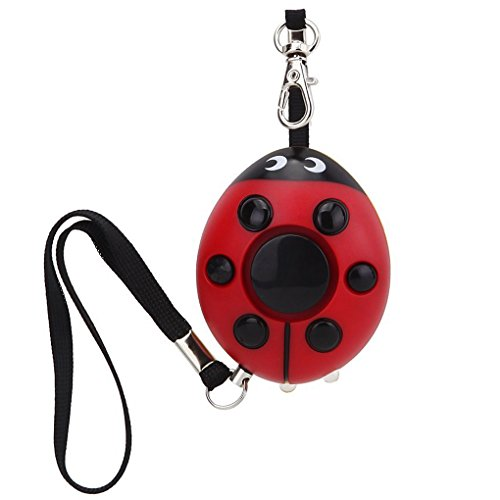 Guard 130dB Personal Alarm with LED Flashlight,Self Defense Keychain,Loudest Emergency Whistle/Survival Whistle for Jogger/Women/Kids/Elderly/Night worker/Attack/Rape/Protection, Bag Decoration