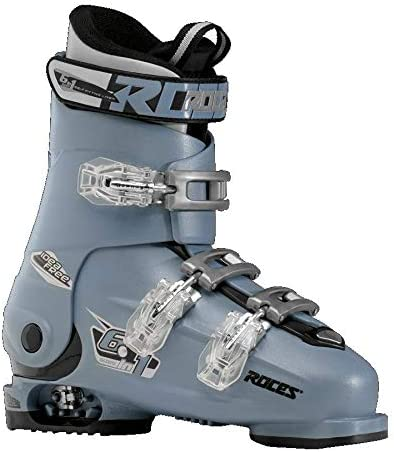Roces Adjustable Ski Boot Teal-Black