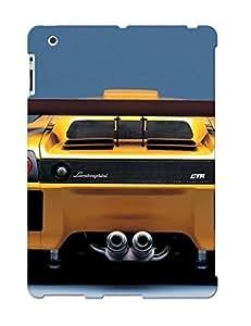 Crazylove Anti-scratch And Shatterproof Lamborghini Diablo Yellow Backside Phone Case For Ipad 2/3/4/ High Quality Tpu Case