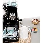 IKOHS-THERA-RETRO-Macchina-del-Caff-Express-per-caff-espresso-e-cappuccino-1100-W-15-bar-vaporizzatore-regolabile-capacit-125-l-caff-macinato-e-monodose-con-doppia-uscita-Nero