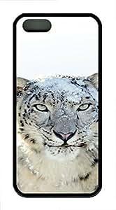iPhone 5 5S Case Mountain Lion TPU Custom iPhone 5 5S Case Cover Black