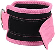 Ankle Straps for Cable Machine, Comfortable Fitness Ankle Straps Stable Practical for Thigh for Leg for Streng