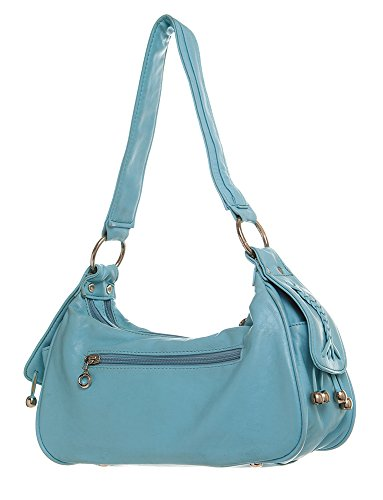 Studded Shoulder For Handbag Blue All Hobo by Handbags rrwzHZx