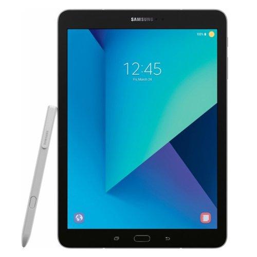 Samsung Galaxy Tab S3 9.7 LTE SM-T825 32GB Factory Unlocked GSM Tablet - International Version, No Warranty (Silver) (Samsung Tab S Gsm)