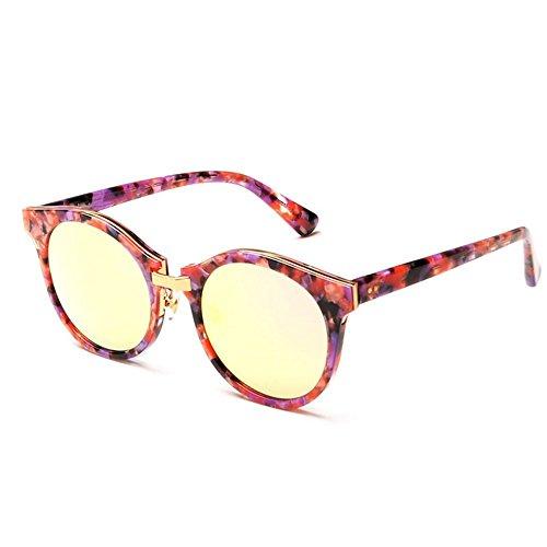 6 Gafas completo marco mujer gafas personalizadas de sol para polarizadas sol gafas de Gafas sol Shop de de Uno de polarizadas sol circular d5gUqHxdwS
