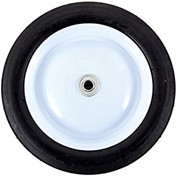 Arnold Steel Wheel with 80 lb. Load Rating - 10-Inch x 1.75-Inch