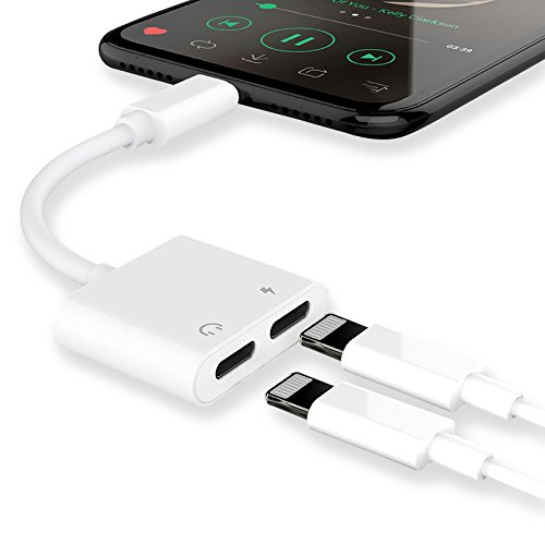 Cheap Cables & Interconnects Lightning Jack Audio Headphone Adapter for Apple iPhone X 8/8 Plus iPhone..