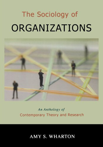 The Sociology of Organizations: An Anthology of Contemporary Theory and (Finance Research Letters)