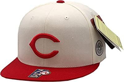 Cincinnati Reds 1957-1958 Fitted Hat Cooperstown Collection 11205