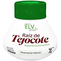 *Brand New Design* Original Elv Alipotec Tejocote Root Treatment - 1 Bottle (3 Month Treatment) - Most Popular, All-Natural Weight Loss Supplement in Mexico