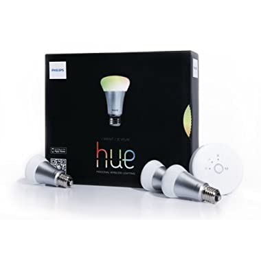 Philips 426353 Hue White and Color, Starter Kit, 1st Generation, Works with Alexa