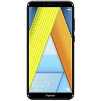 "Huawei Honor 7A - Smartphone Dual SIM de 5.7"" (4G, Octa-Core Snapdragon 430, RAM de 2 GB, Memoria de 16 GB, cámara de 13 MP, Android Oreo) Color Negro"