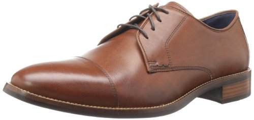 Cole Haan Men's Lenox Hill Cap Oxford,British Tan,9.5 M US by Cole Haan