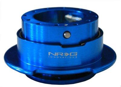 NRG Innovations SRK-250NB Quick Release Kit (New Blue Body/Titanium Chrome Ring) -