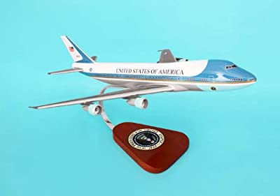 Executive Series Display Models B11244 VC25 B747-200 Air Force One 1-144