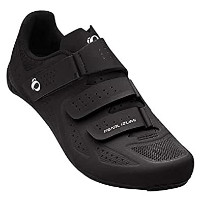 PEARL IZUMI Men's Select Road v5 Cycling Shoe Black, 41.0 M EU (7.7 US) Black Size: 39 M EU