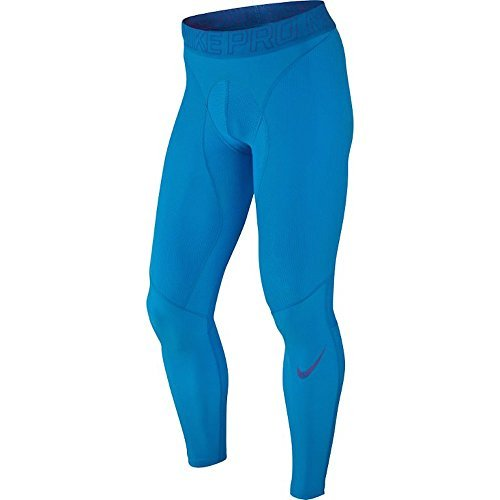 Nike Pro HyperCompression Training Tights Mens Size Medium Blue 646368-415 by NIKE