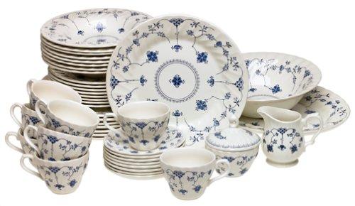 Amazon.com | Churchill China Finlandia 45-Piece Dinnerware Set Service for 8 Dinnerware Sets  sc 1 st  m.amazon.com & Amazon.com | Churchill China Finlandia 45-Piece Dinnerware Set ...