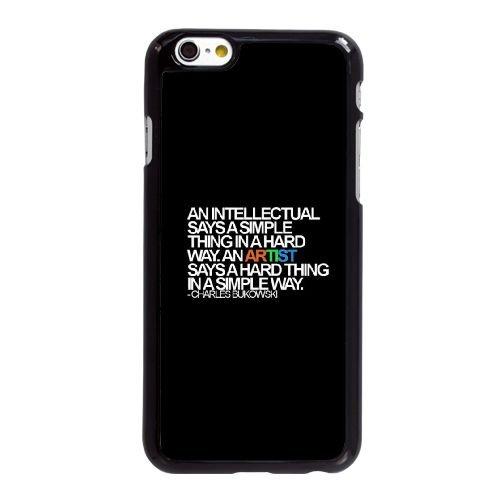 Artistes V3R76 X2J2VN coque iPhone 6 Plus de 5,5 pouces cas de couverture de téléphone portable coque noire KQ3GVA0VV