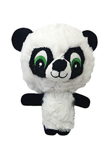 Multipet 43234-1 Knobby Noggins Panda Dog - Toy Panda Dog