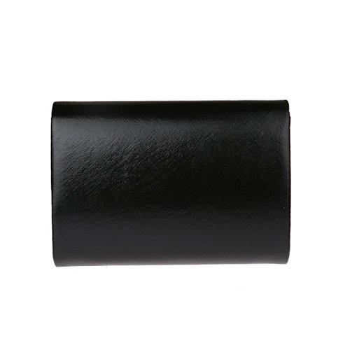 Soiree à Main Femme KAXIDY a Soirée de Main Pochette Sac Enveloppe Noir Sac P5ZwZCpq