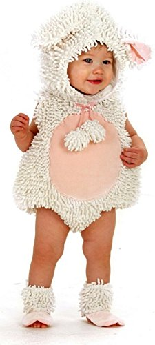 Laura the Lamb with Feet Costume - Baby 12-18