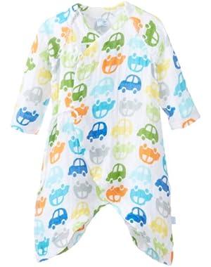 Baby Organic Muslin Wrap Gown