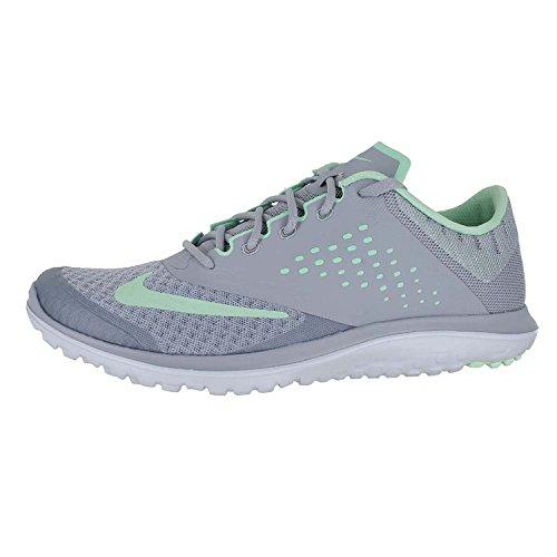 Nike Womens Fs Lite 2 Scarpe Da Corsa Grigio Lupo / Menta Fresca / Platino Puro