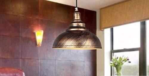 UON Gzz Deng Home Außenbeleuchtung Pendelleuchte Schatten Industrie Hängelampe Kronleuchter 30 cm Wohnzimmer Restaurant Schlafzimmer Beleuchtung