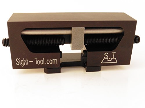 Universal Handgun Sight Pusher Tool for 1911 Sig springfield and others Best tool on the market for front or rear sights MADE IN USA (Best Sight Pusher Tool)