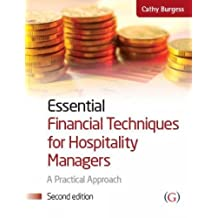 Essential Financial Techniques for Hospitality Managers: A Practical Approach