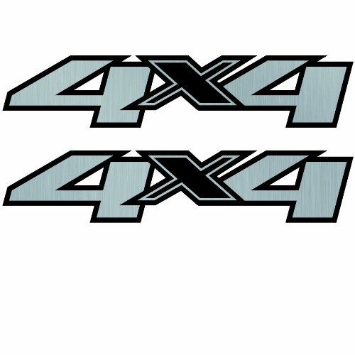 Vinylmark LLC 4x4 Decals -2008 to 2012 Fits Chevy Truck Bed