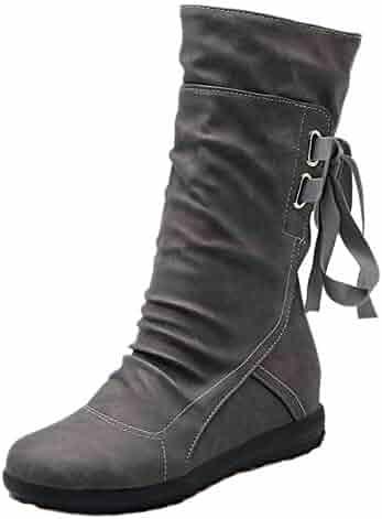 1d6d4b5851010 Shopping Purple or Grey - Mid-Calf - Boots - Shoes - Women ...