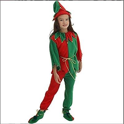 Disfraz de Elfo de Navidad para Mujer, Disfraz de Fiesta de ...