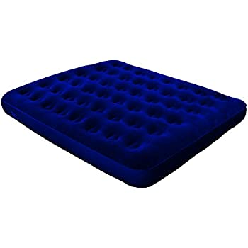 North Gear Super Flocked Fleece Queen Air Bed Mattress