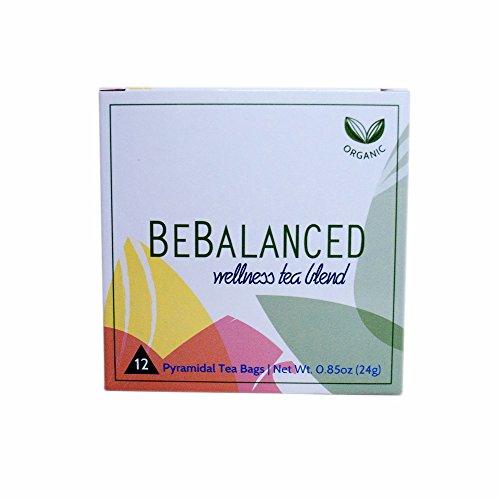 World Vitae BeBalanced Tea, Organic White Tea Herbal Blend - Stress and Energy Harmonizing