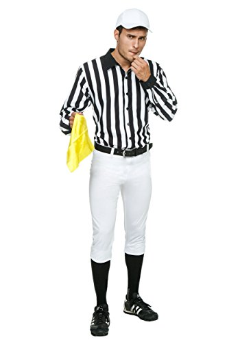 [Fun Costumes mens Adult Referee Costume X-Large] (Mens Referee Costumes)