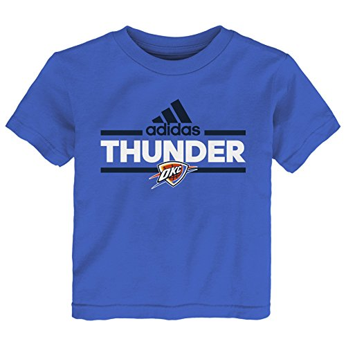 City Thunder Mini Basketball - NBA Toddler Oklahoma City Thunder Mini Dassler Short Sleeve Tee-Strong Blue-2T