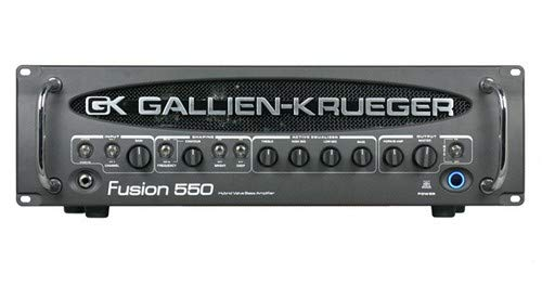 - Gallien-Krueger Fusion 550 Hybrid Bass Valve Amplifier (500 Watt)