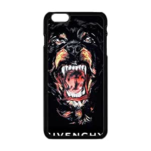 Custom Wolf Animal Givenchy Logo Protective Skin Case for iPhone 6Plus