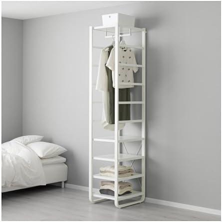 Ikea – estantería, Blanco 17 1/2 x 21 5/8 x 85,