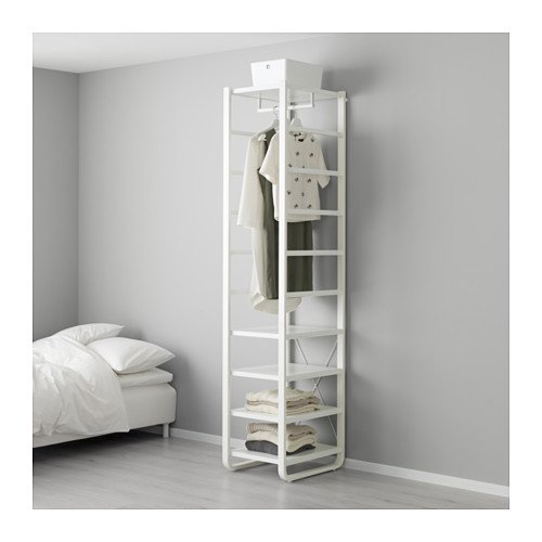 IKEA - estantería, blanco 17 1/2 x 21 5/8 x 85,