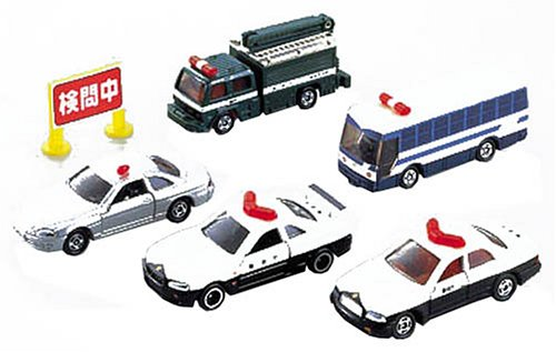 スーパーポリスカーコレクション(5台セット) 「トミカ」 530459の商品画像
