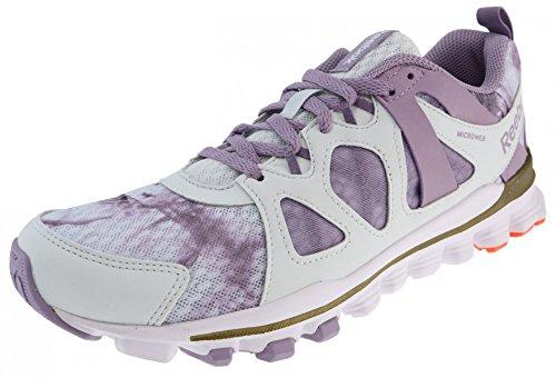 Reebok Running Hexaffect Run 2.0 Wow Polar Blue Lavender Grey White Polar Blue Lavender Grey White
