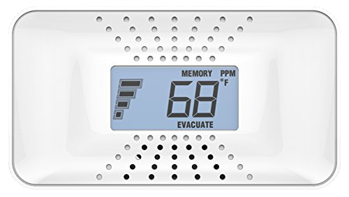 First Alert CO710 10-Year Carbon Monoxide Alarm with Temperature