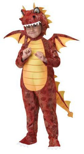 California Costumes Fire Breathing Dragon Toddler Costume, (Dragon Costumes For Children)