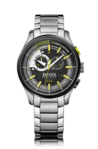 Hugo Boss Mens Yachting Timer II Analog Dress Quartz Watch (Imported) 1513336