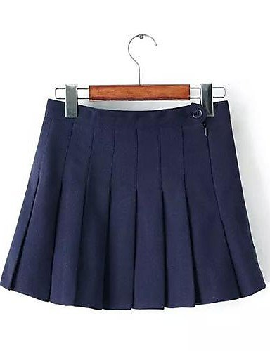 GSP-vereisten ™ Frauen hohe Taille Tweedrock