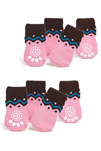 Non Slip 2 Sock Packs For Yorkies